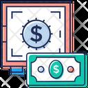 Money Locker Money Safety Business Locker Icon
