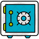 Money Locker Safe Icon