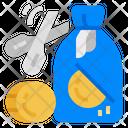 Money Loss Decrease Money Icon