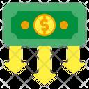 Money Loss Money Finance Icon