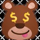 Money Lover Emoji Sticker Icon
