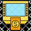 Money Machine Atm Money Icon