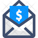 Email Money Mail Cash Icon
