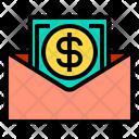 Mail Money Finance Icon