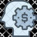 Making Money Thinking Icon