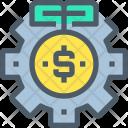 Investment Money Process Icon