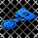Money Making Isometric Icon