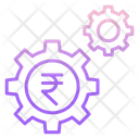 Iinvestment Process Money Management Rupee Investment Icon