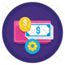 Iservice Charge Money Management Service Charge Icon