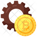 Money Management Financial Management Bitcoin Management Icon