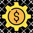 Setting Money Dollar Icon