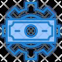 Gear Money Finance Icon