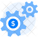 Cog Finance Gears Icon
