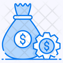 Money Management Financial Management Financial Control Icon