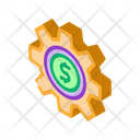 Business Dollar Coin Icon