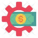 Gear Money Currency Icon