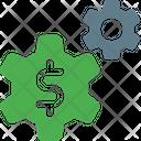 Money Management Finance Setting Money Setting Icon