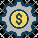Money Management Dollar Management Finance Icon