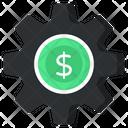 Financial Management Money Management Dollar Setting Icon