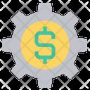 Gear Setting Finance Icon