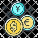 Money Market Money Coins Icon
