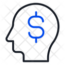 Mind Business Dollar Icon