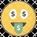 Money Mouth Face Icon