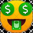 Money Mouth Face Emoji Emotion Icon