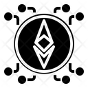 Ethereum Money Bitcoin Cryptocurrency Money Network Ethereum Network Icon