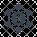 Dollar Sharing Transfer Icon