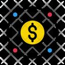 Dollar Money Connection Icon
