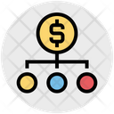Money Network Sharing Network Icon