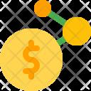 Network Money Finance Icon