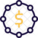 Money Network Finance Network Money Icon