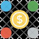 Online Business Money Icon