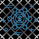 Money Network Dollar Icon