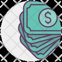 Money Note Income Icon