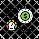 Money Optimize Time Earn Icon