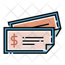 Money Order Money Receipt Icon