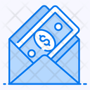 Money Order Monetize Money Envelope Icon