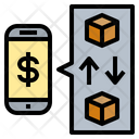Smartphone Supplies Trading Icon