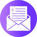 Money Order Email Envelope Icon
