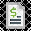 Money Order Document Money Icon