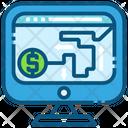 Money Path Finance Icon