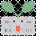 Money Plant Emoticon Emotion Icon