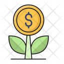 Growth Increase Profit Icon