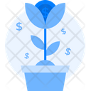 Flowerpot Grow Growth Icon
