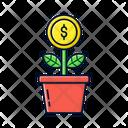 Money Coin Money Finance Icon