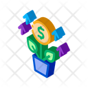Growing Money Tree Icon