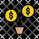 Plant Growth Money Icon
